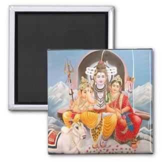 Shiva Family Magnet