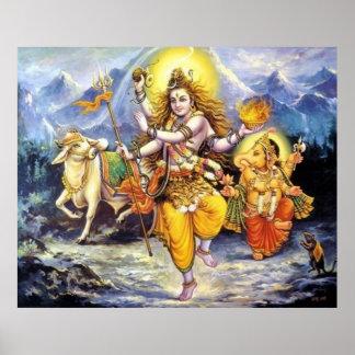 shiva-ganesha poster