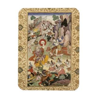 Shiva killing the Demon Andhaka, c.1585-90 Magnet