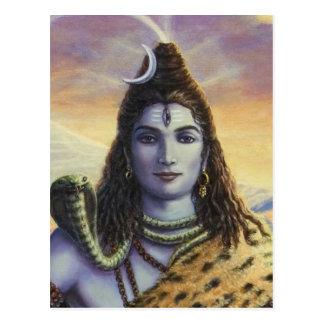 Shiva Mahadeva Postcard