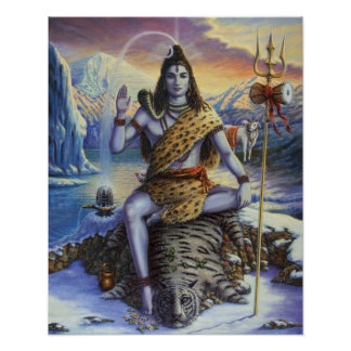 Shiva Mahadeva Poster Print