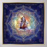 Shiva Mahamrityunjaya. Health, Peace, Prosperity Poster