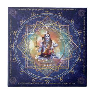 Shiva Mahamrityunjaya - Karma purifying Ceramic Tile