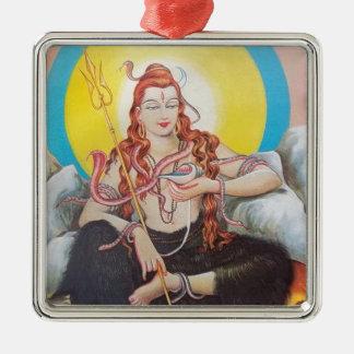 shiva metal ornament