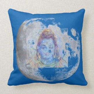 SHIVA MOON MEDITATION PILLOW 20x20 REVERSIBLE
