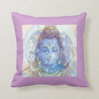 SHIVA MOON MEDITATION PILLOW, ALTAR PIECE,YOGA BUF THROW PILLOW