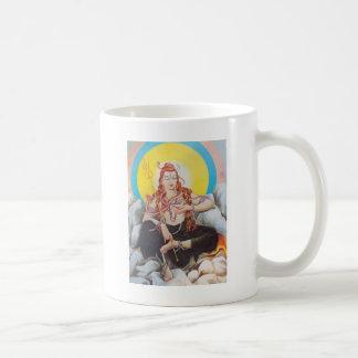 shiva classic white coffee mug