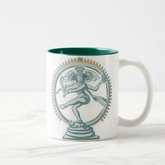 Shiva Two-Tone Coffee Mug