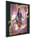 Shiva - musgo del vintage - lona envuelta lona envuelta para galerias