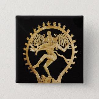 Shiva Nataraja Button