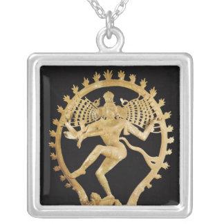 Shiva Nataraja Colgante Cuadrado