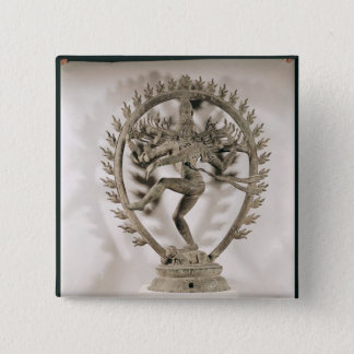 Shiva Nataraja, Dravidian Pinback Button