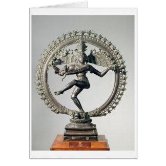 Shiva Nataraja, Tamil Nadu, Late Chola (bronze) Card