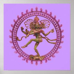 Shiva (Nataraja) the Cosmic Dancer Poster
