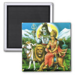 Shiva & Parvati Magnet
