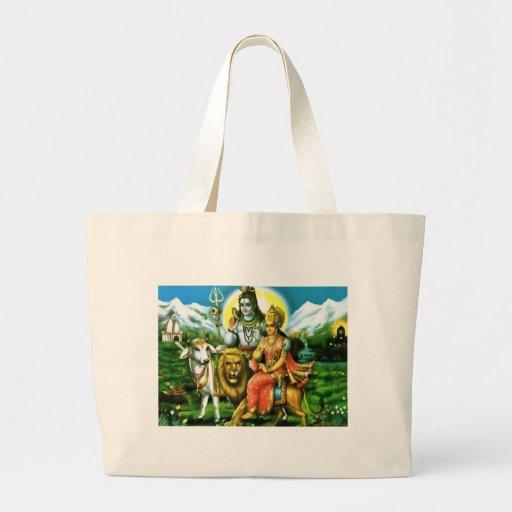 Shiva & Parvati Tote Bag