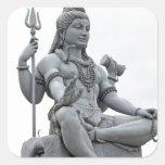 Shiva Pegatina Cuadrada