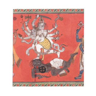 Shiva Performing The Dance Of Bliss Notepad