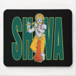Shiva playing Flute Mouse Pad
