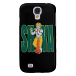 Shiva playing Flute Samsung Galaxy S4 Cases