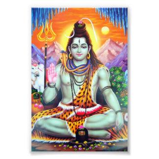 "Shiva Print (4"" x 6"") - Version 4 Photo Print"