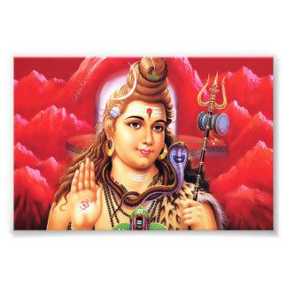 "Shiva Print (6"" x 4"") - Version 3 Photo Print"