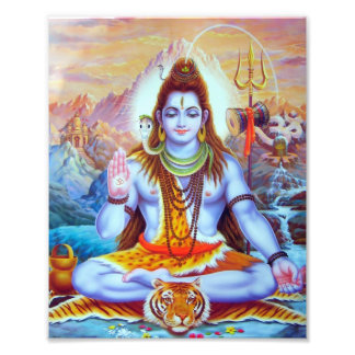 "Shiva Print (8"" x 10"") - Version 1 Photo Print"