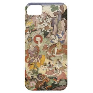 Shiva que mata al demonio Andhaka, c.1585-90 Funda Para iPhone SE/5/5s