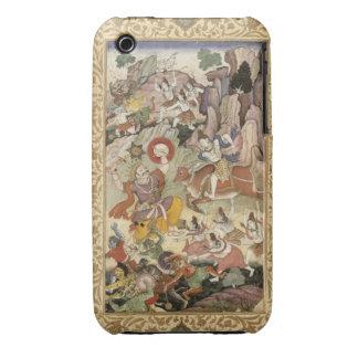 Shiva que mata al demonio Andhaka, c.1585-90 iPhone 3 Case-Mate Coberturas