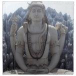SHIVA - Señor Himalayan de la PAZ Servilleta Imprimida