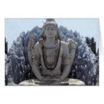 SHIVA - Señor Himalayan de la PAZ Tarjeta De Felicitación