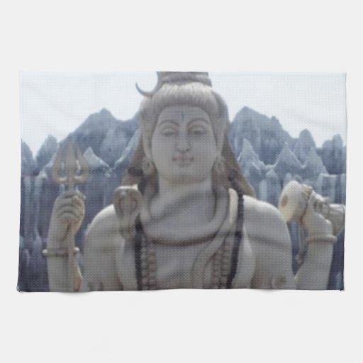 SHIVA - Señor Himalayan de la PAZ Toallas