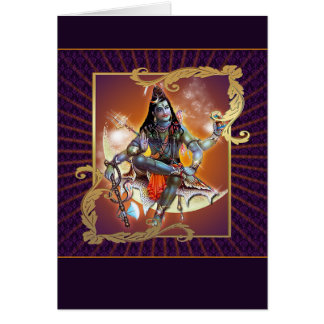 Shiva - Sunset Glow - Card, Greeting, Note Card