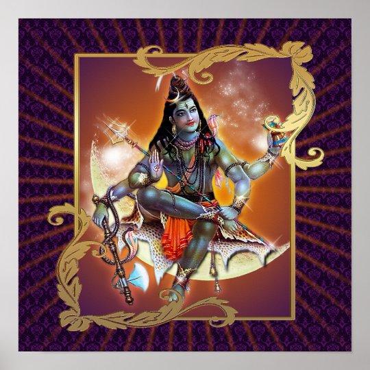 Shiva - Sunset Glow - Poster