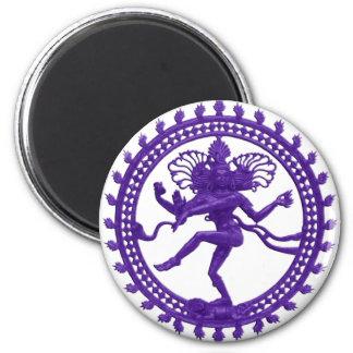 Shiva the Cosmic Dancer 2 Inch Round Magnet