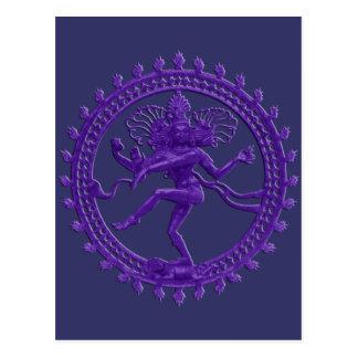 Shiva the Cosmic Dancer postcard