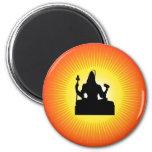 Shiva - The Indian God Refrigerator Magnets