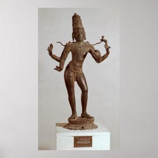 Shiva Vinadhara Dakshina-Murti, Dravidian Póster