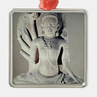 Shiva with ten arms, from Thap Banh It Temple, Metal Ornament