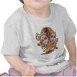 Shiva y familia camiseta