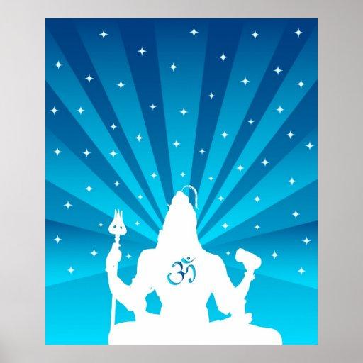 Shiva y OM - poster