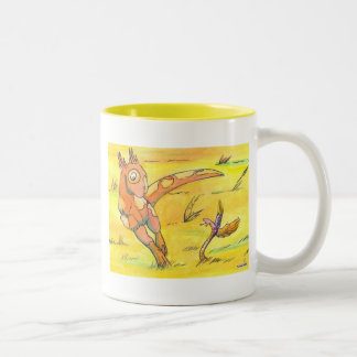 Shivae and Wisp Two-Tone Coffee Mug