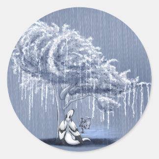 Shivae! April Showers 2014 Classic Round Sticker
