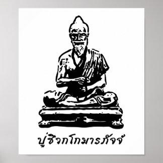 Shivago Komarpaj Buddha of Thai Massage Poster