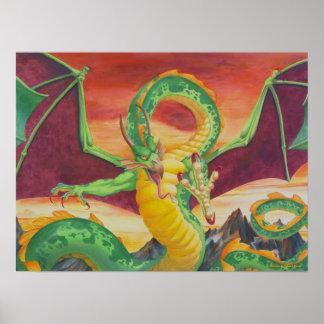 Shivan Dragon Redesign Print