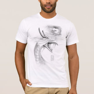 Shivan Dragon with Moon T-Shirt