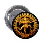 Shiva's Dance 2 Inch Round Button