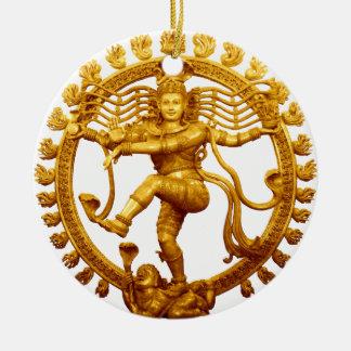 Shiva's Dance Ceramic Ornament