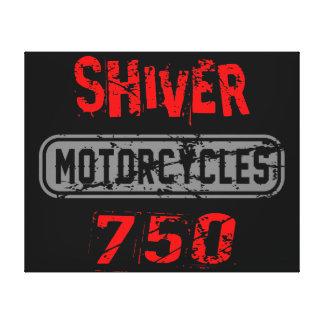 Shiver 750 canvas print