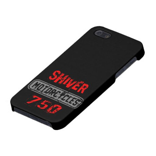 Shiver 750 iPhone 5/5S cases